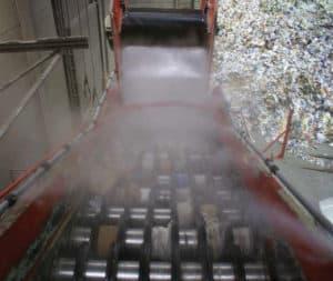 Brumisateur industriel pour convoyeur